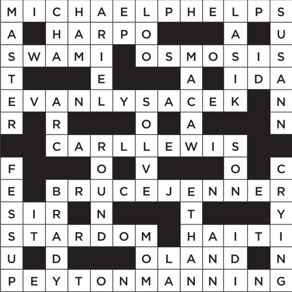 photograph about Hard Printable Crosswords identified as Printable Crossword Puzzles (with Remedies) Site visitors Digest