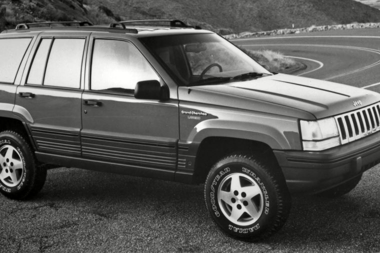 1993 Jeep Grand Cherokee Publicity shot