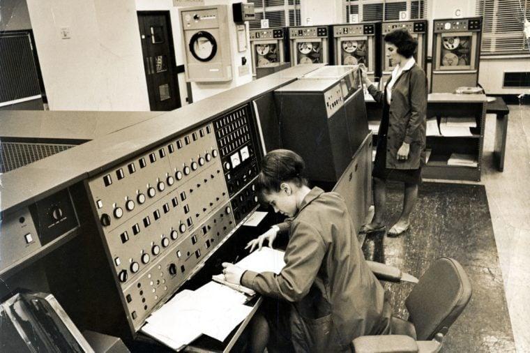Scotland Yard And Home Office Run Computer
