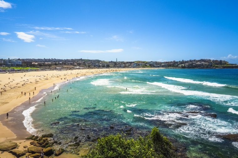 Beautiful Nature of Bondi Beach in Australia