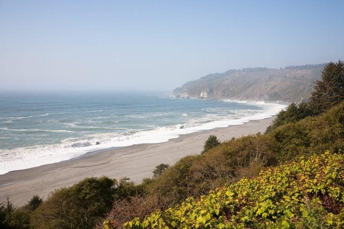 California Coastline, near Eureka in California, USA