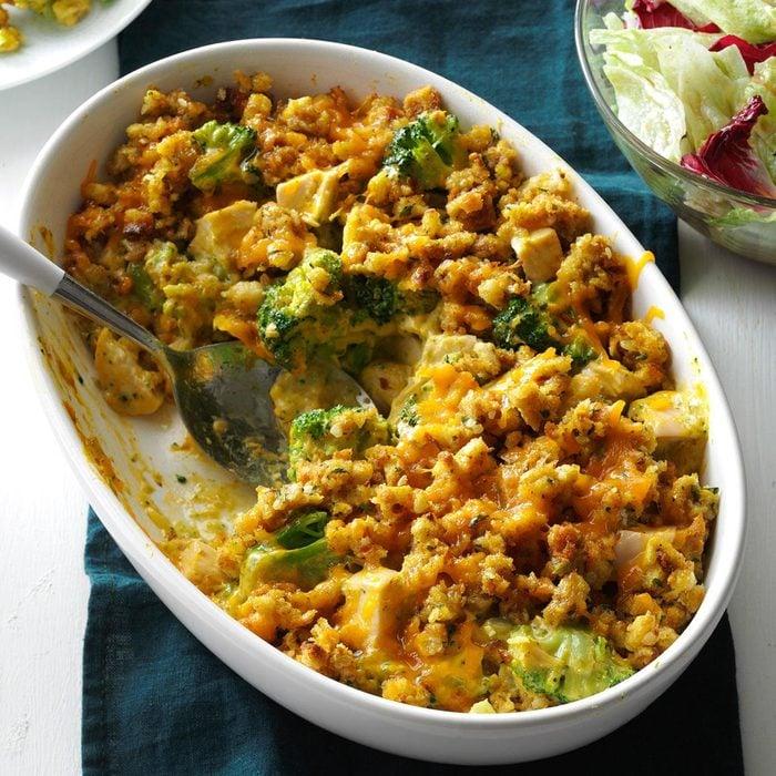 Illinois: Contest-Winning Broccoli Chicken Casserole