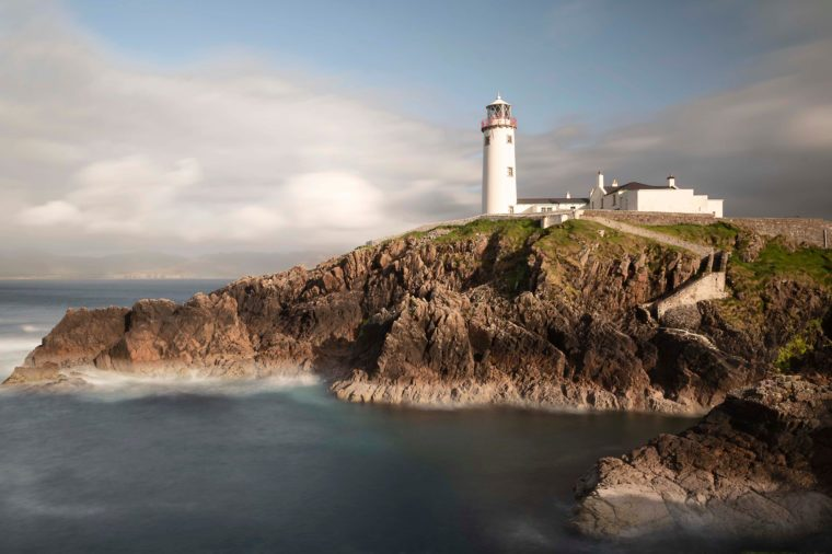 Fanned Lighthouse situated in Co Donegal, Ireland one of the country's most famous lighthouse dating back over 200 years.