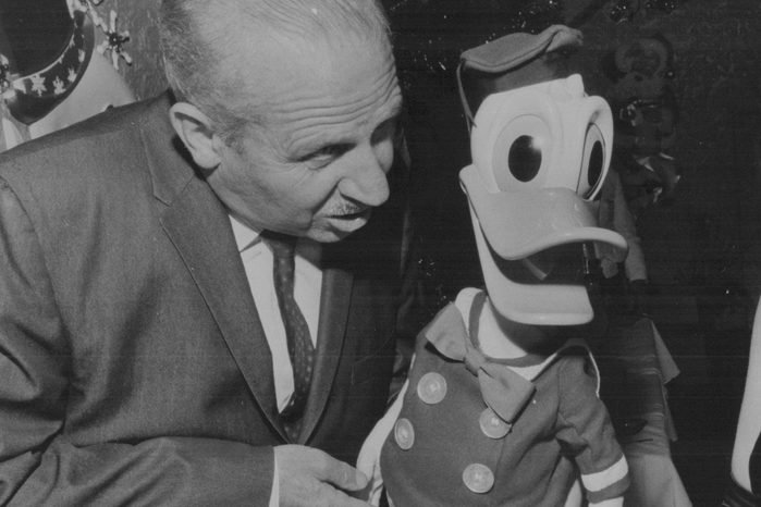 Clarence Nash voice of Donald Duck
