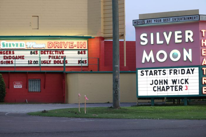 The Silver Moon Drive-In Theatre
