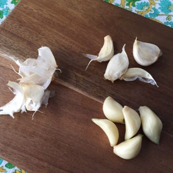 We Tried Julia Child's Method for Peeling Garlic
