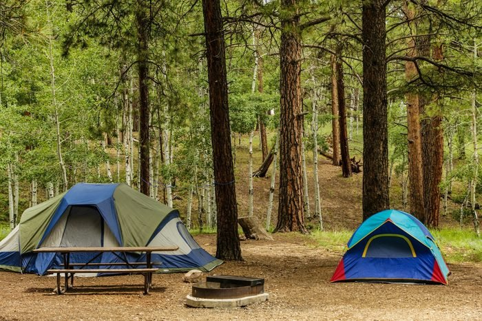 North RIm Campground in Grand Canyon National Park in Arizona, United States