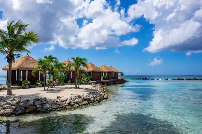 Picturesque Renaissance Islands of Aruba in Southern Caribbean