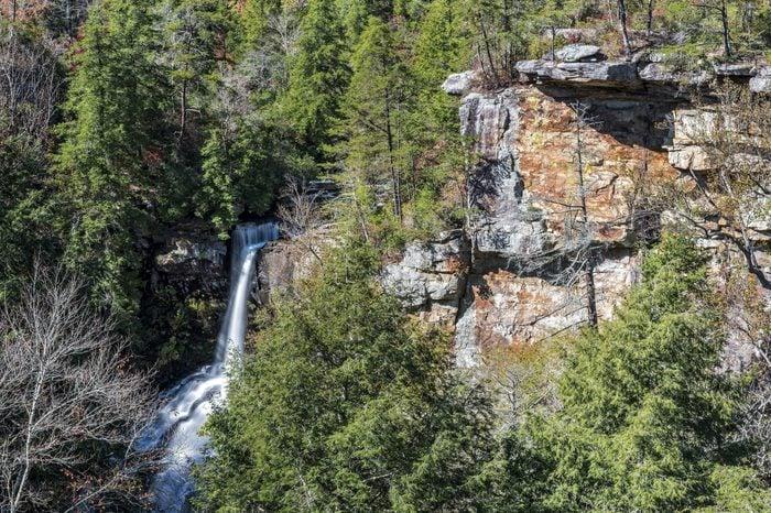 Piney Creek Falls At Fall Creek Falls State Park In Tennessee