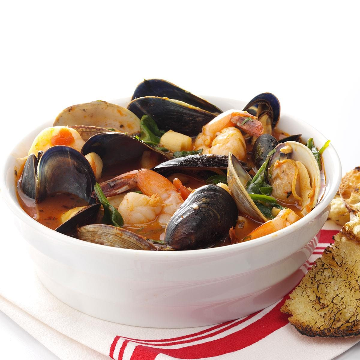 Spicy Fresh Seafood Cioppino