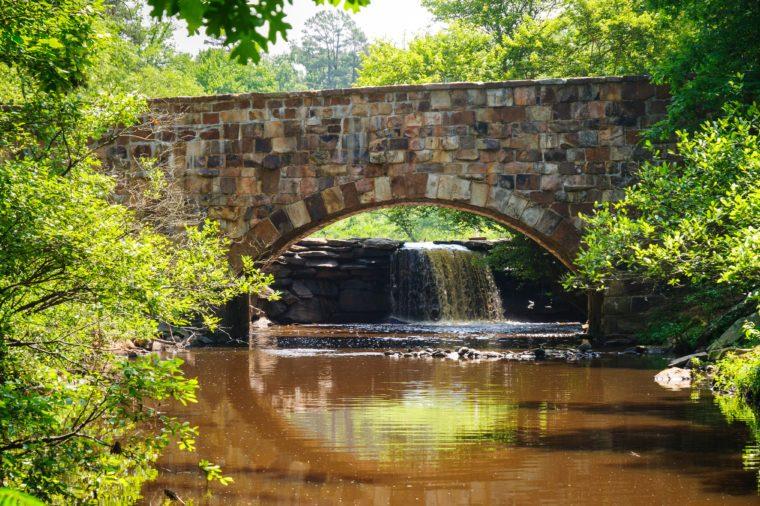 Stone Bridge at Petit Jean State Park