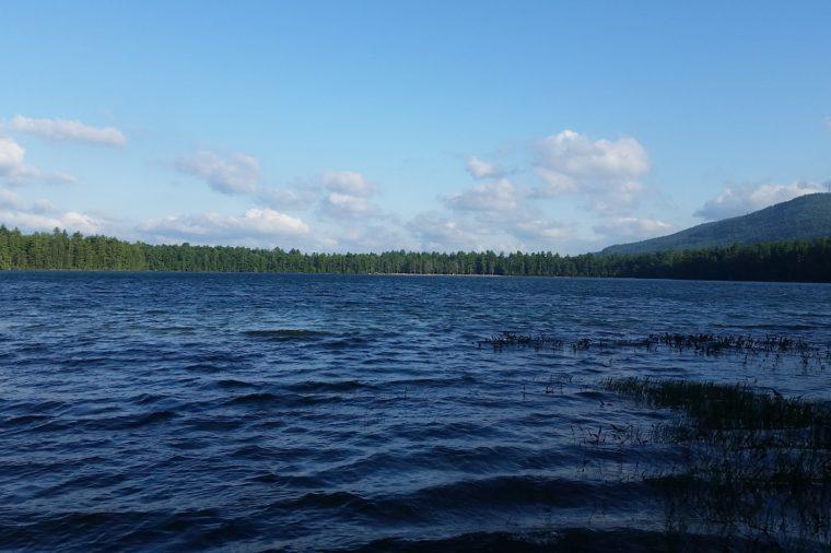 White Lake in Tamworth, NH