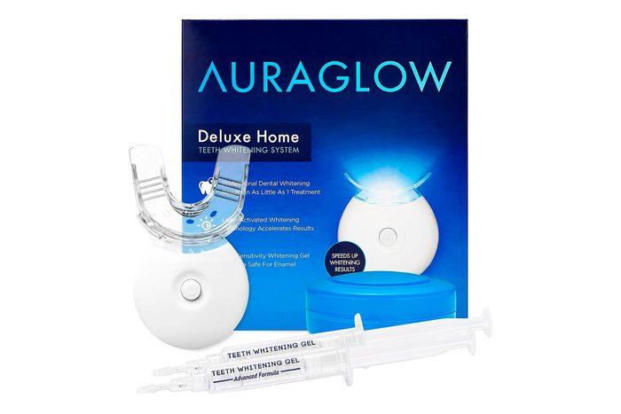 auraglow teeth whitening kit
