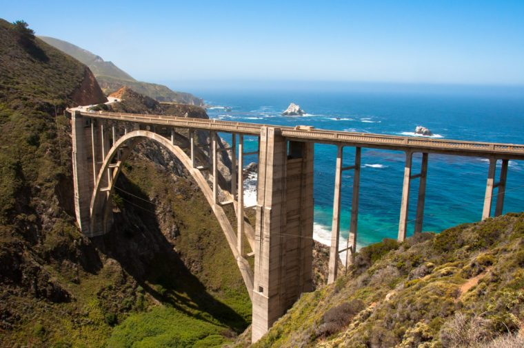 Bixby Bridge, Highway #1 Big Sur - California USA