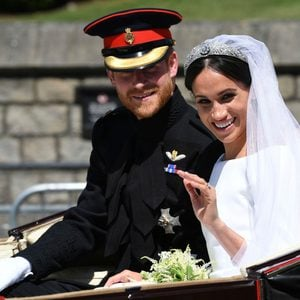 Meghan Markel in Wedding Dress