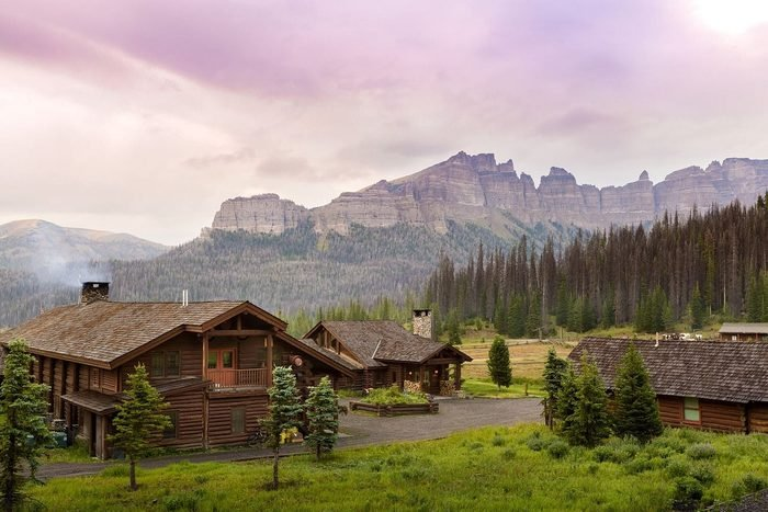 Brooks Lake Lodge & Spa and Spa, Dubois, Wyoming