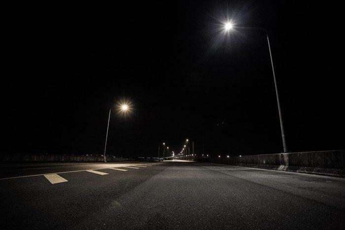 night road Bangkok