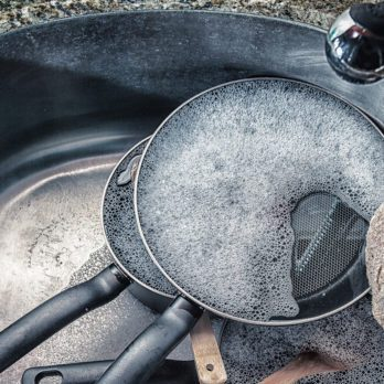 The One Thing You're Doing to Your Frying Pans That Can Ruin Them