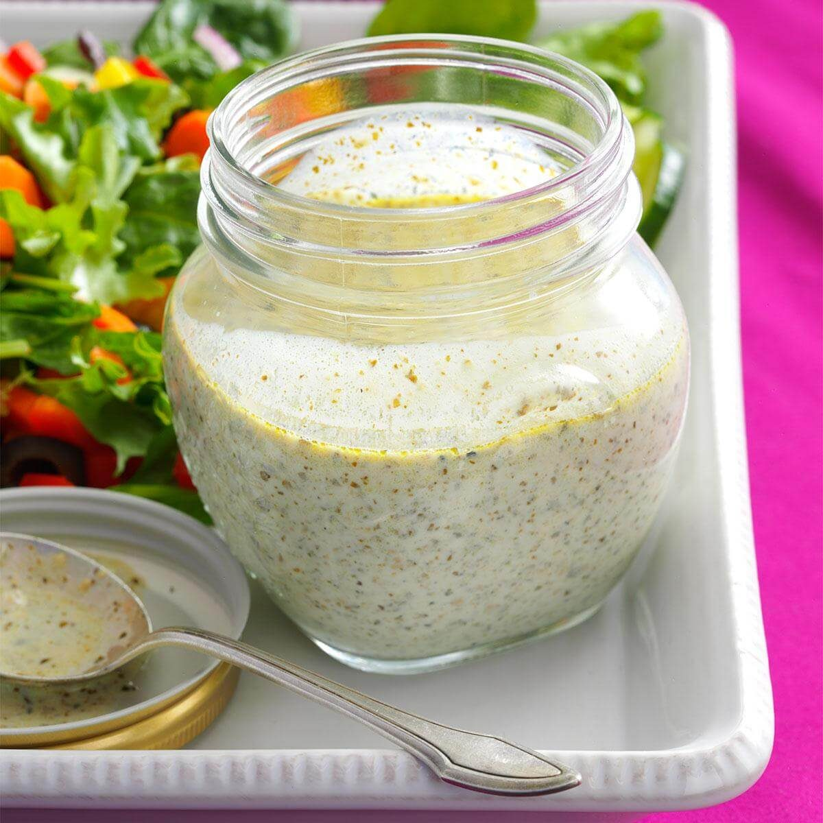 Pesto Buttermilk Dressing