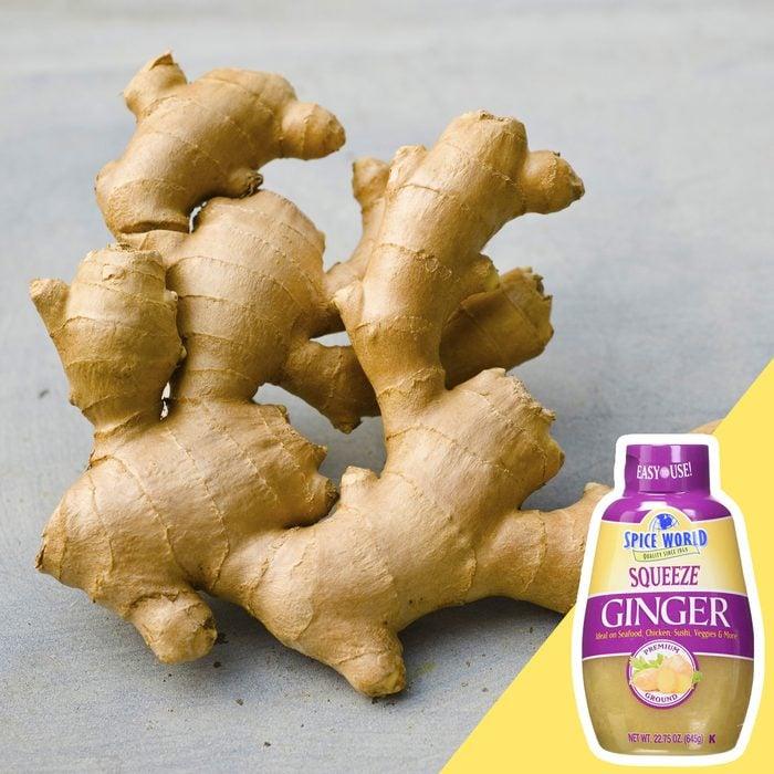 Ginger root kitchen hack