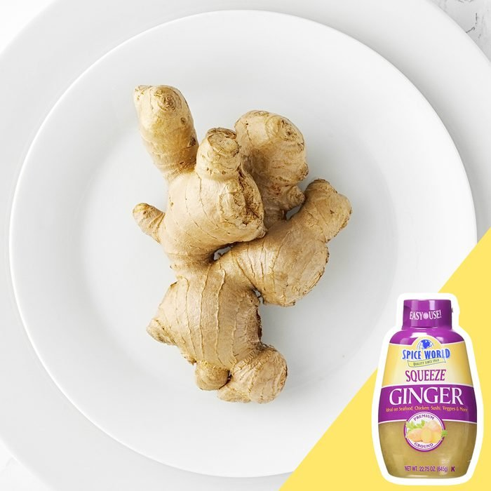 peel ginger kitchen hack