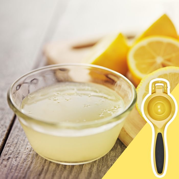 Lemon juice, kitchen hacks