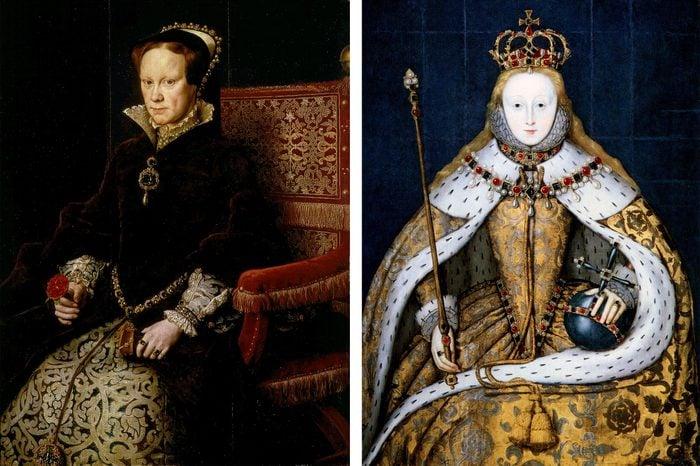 Queen Mary and Queen Elizabeth