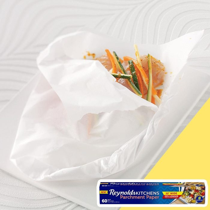 Parchment paper wrap