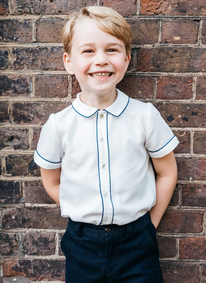 Portrait of Prince George to Mark his Fifth Birthday, Clarence House, London, UK - 09 Jul 2018