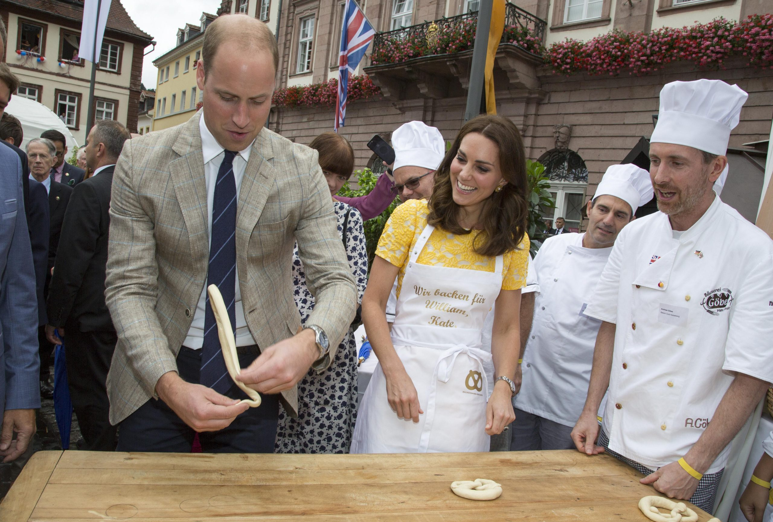 Prince William and Catherine Duchess of Cambridge visit to Germany - 20 Jul 2017