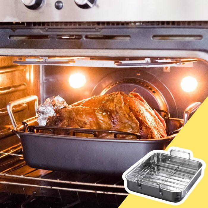 Roast pan gravy kitchen hack