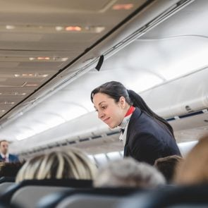 flight attendant plane