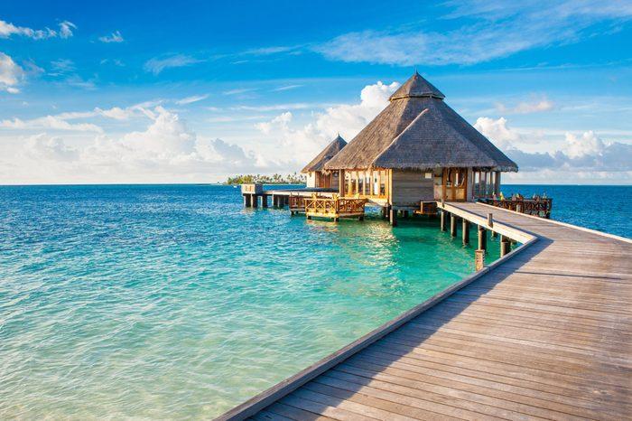 Rangali, Maldives island