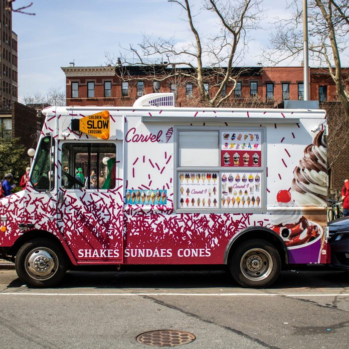 carvel ice cream truck