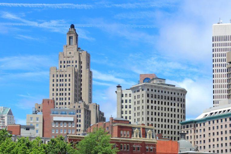 Rhode Island: Industrial National Bank Building