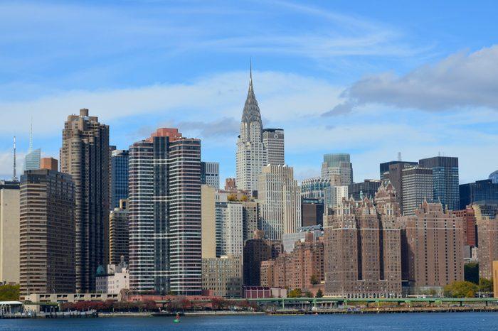 Midtown and the Chrysler building