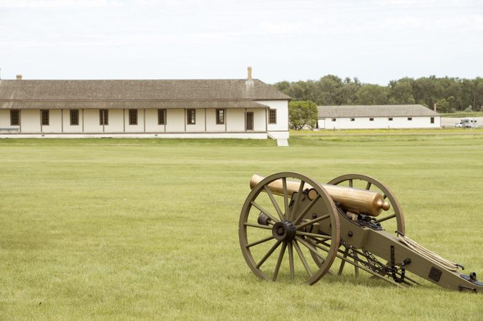 Canon, Fort Abraham Lincoln State Park, Mandan, ND