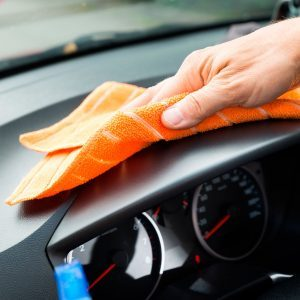 This Is the Best Polish for Your Dashboard—And It's in Your Pantry!