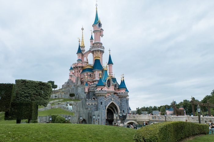Sleeping Beauty Castle in Disney Land Paris