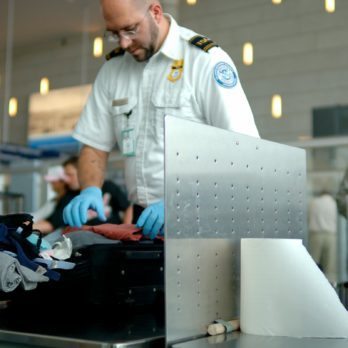 tsa agent security airport