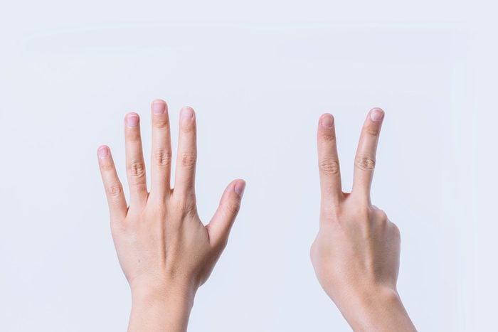 fingers seven