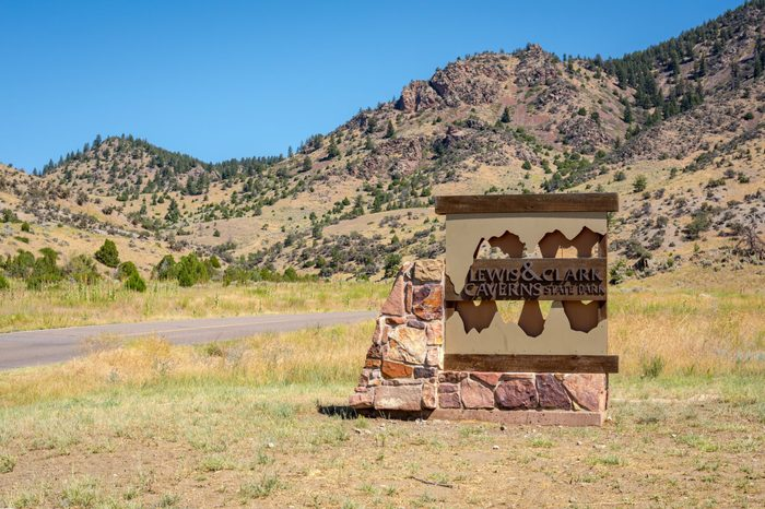 Montana: Lewis and Clark Caverns State Park