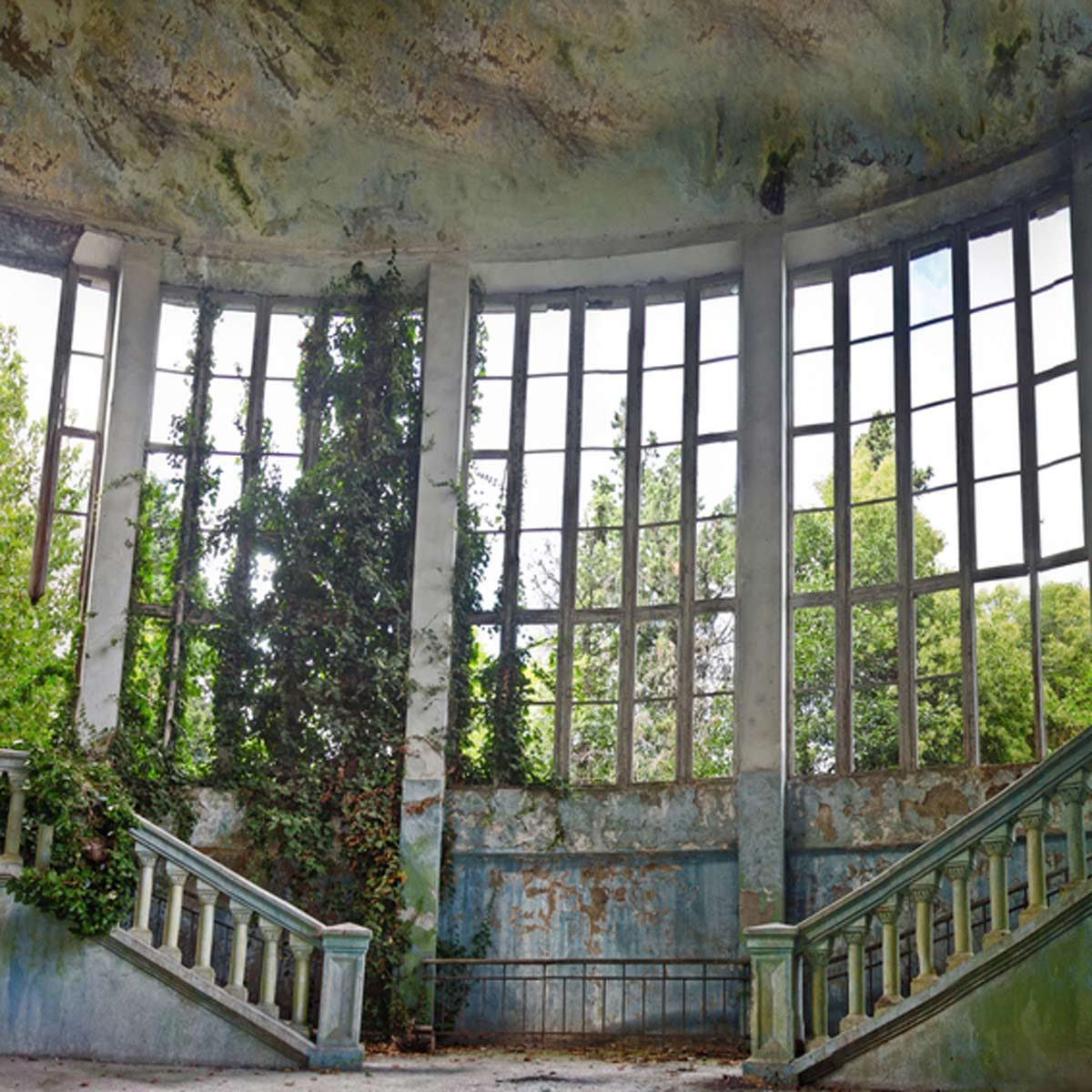 Abandoned Places That Were Overrun By Nature