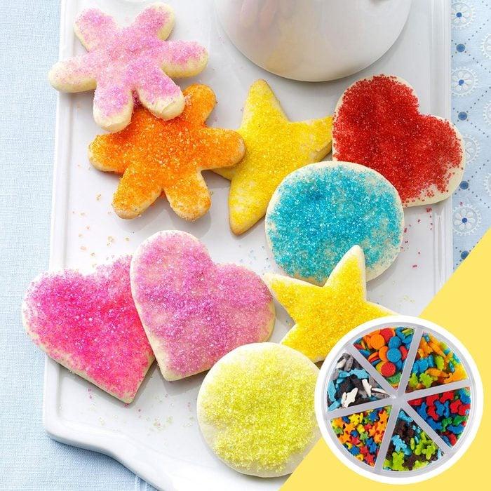Sugar cookie kitchen hack