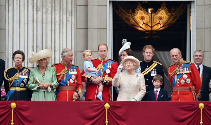 Trooping the Colour ceremony, London, Britain - 13 Jun 2015