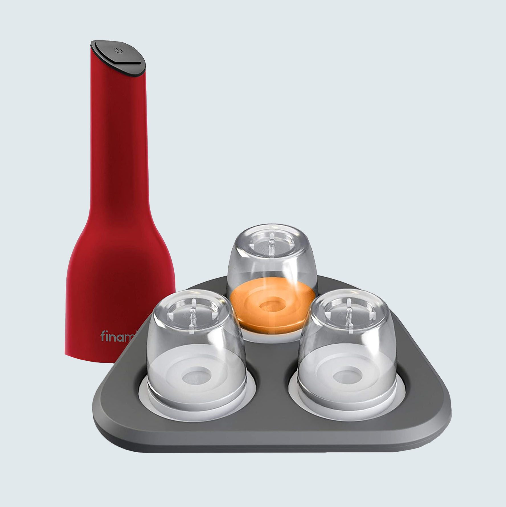 FinaMill battery-operated spice grinder gift pack