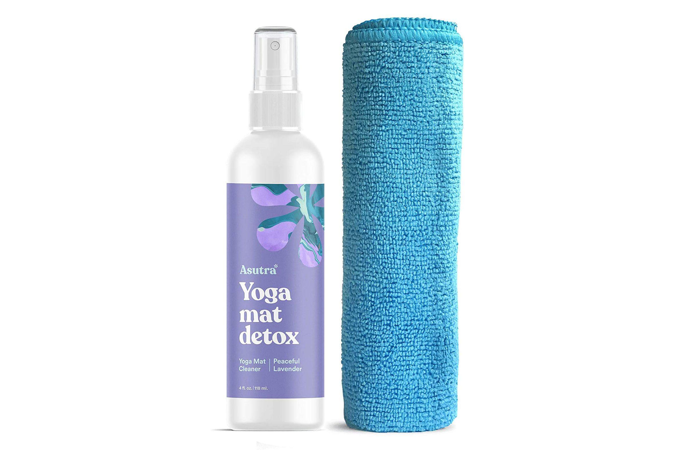 yoga mat cleanser