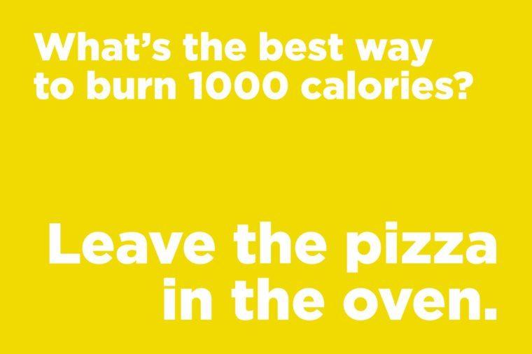 corny joke pizza oven