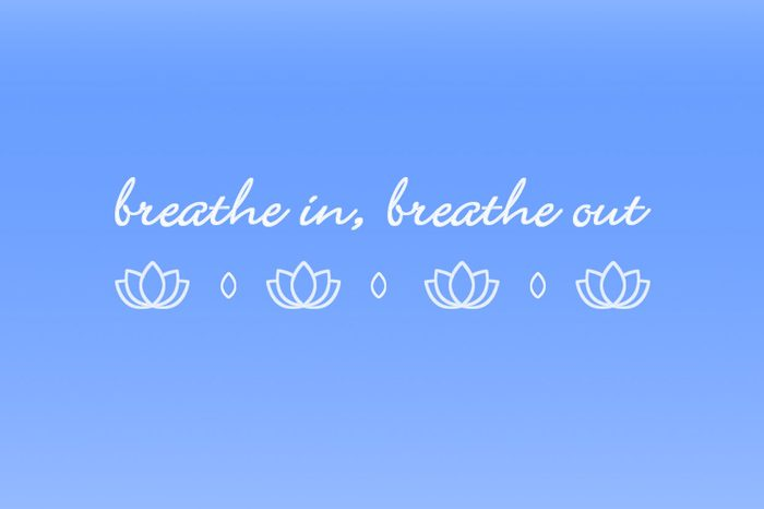 breathe in breathe out iphone wallpaper