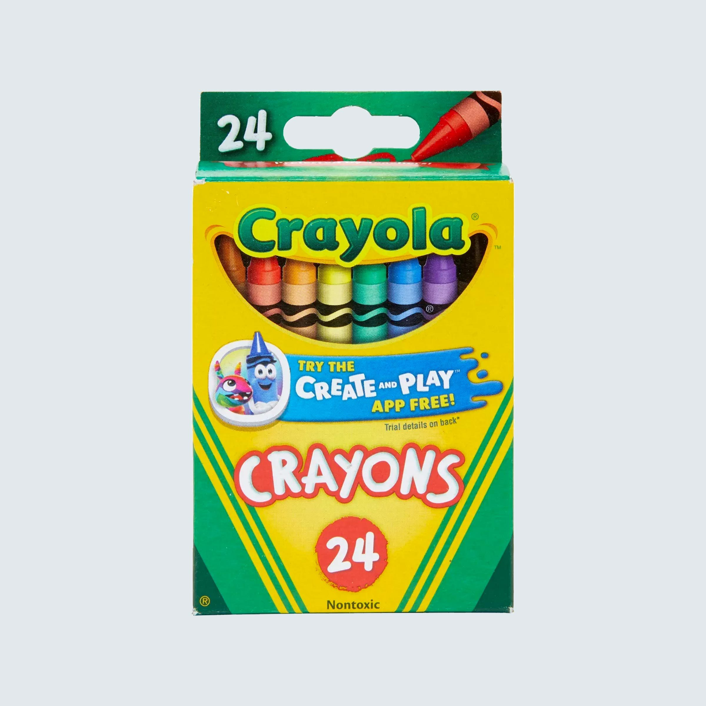 Crayola Crayons are 50¢ per pack